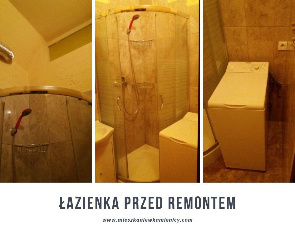 Mała łazienka W Kamienicy Remont Mieszkanie W Kamienicy