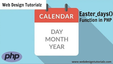 PHP easter_days() Function