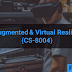 Augmented & Virtual Reality (CS-8004)