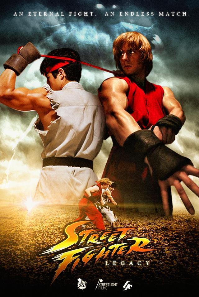 The Bongoman Blog Fan Film Week Day 2 Street Fighter Legacy