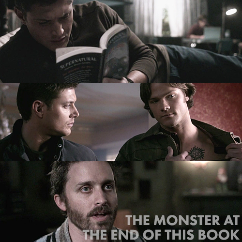 Supernatural 4x18 - The Monster at the End of this Book