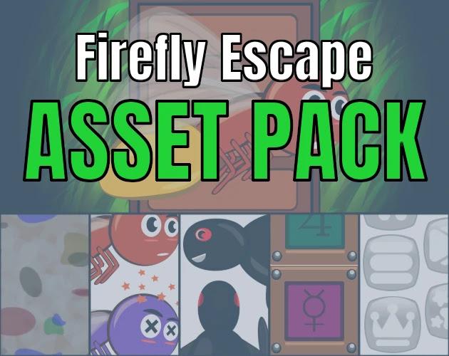 Free 2D Asset Firefly Escape Asset Pack