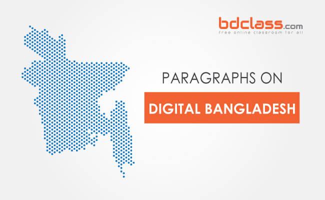 Paragraph on Digital Bangladesh