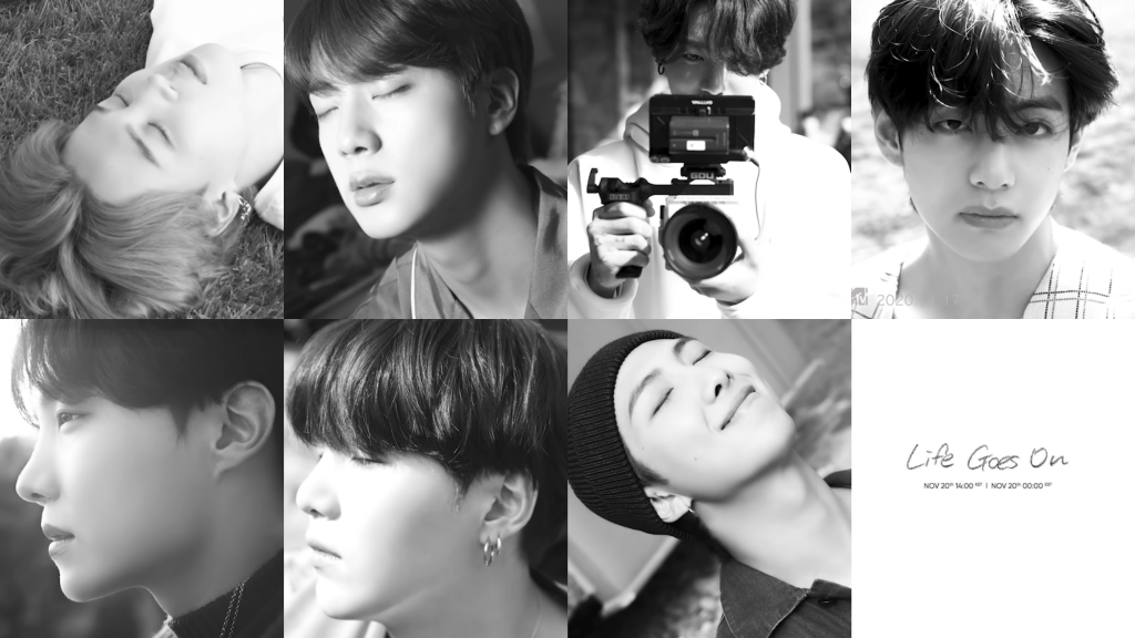 BTS Releases The 2nd Teaser for MV 'Life Goes On'