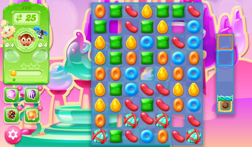 Candy Crush Jelly Saga 289