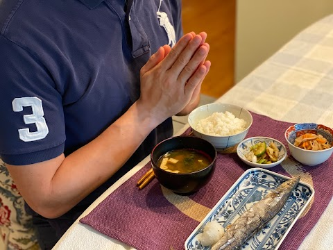 "Eating in Japan? Remember to say ""Itadakimasu"" いただきます"