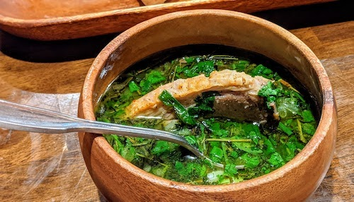 Chakapuli (lamb stew)