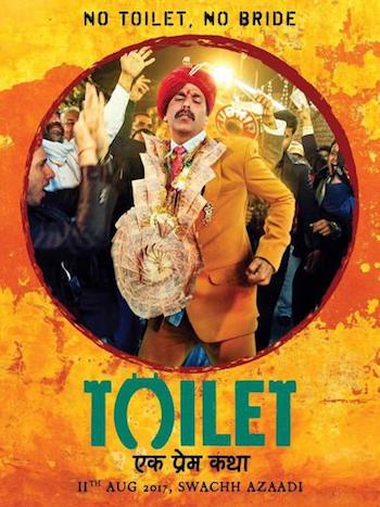 Toilet Ek Prem Katha 2017 Hindi 480p SDTV 400mb