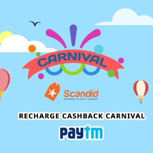 Scandid Recharge Cashback Carnival