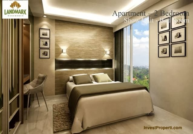 Interior Design Apartment 2 Bedroom Landmark Residence