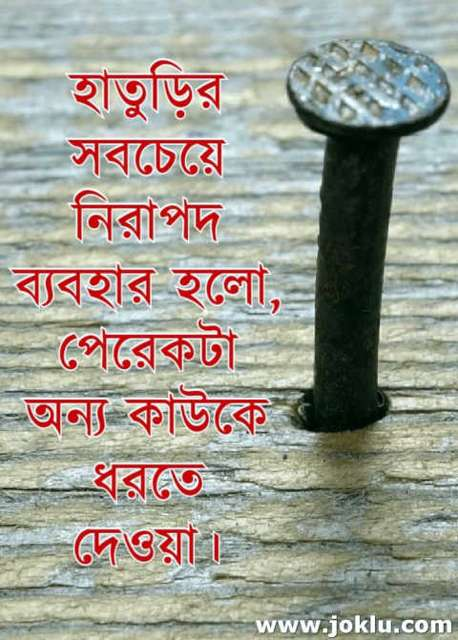 Safe Hammer Bengali funny picture