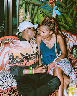 Wizkid with a lady