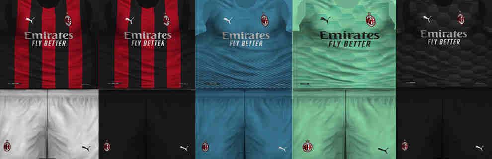 ultigamerz: PES 6 AC Milan 2020-21 Kits-Pack