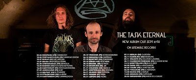 Mars Red Sky new album & tour, The Task Eternal