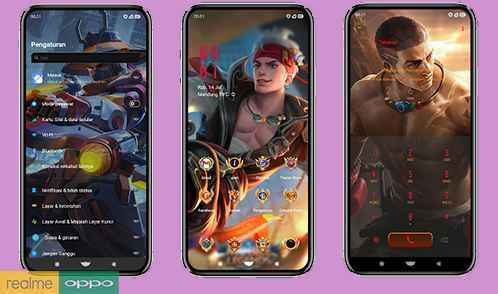 Download Tema Mobile Legend Untuk Realme | Oppo