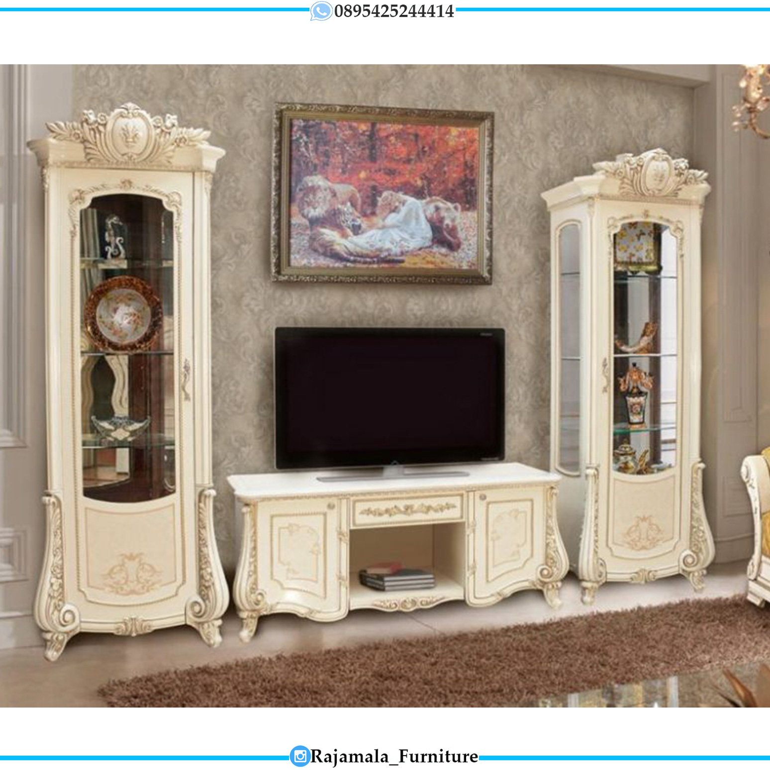 Bufet TV Mewah Gostinya Italian Luxury Style RM-0101