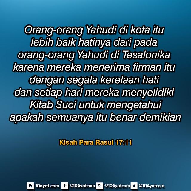 Kisah Para Rasul 17:11