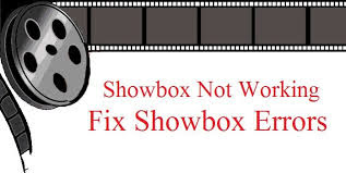 Showbox error Fix