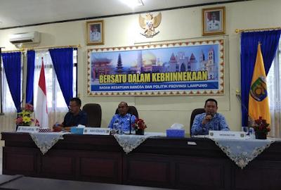 Pemprov Lampung Dorong Pertahankan Peringkat Pertama Penanganan Konflik Sosial