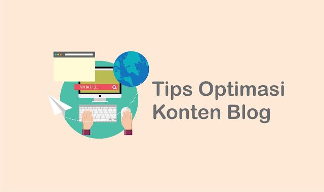 30 Tips Optimasi Konten Blog Untuk Menaikan Trafik Pengunjung