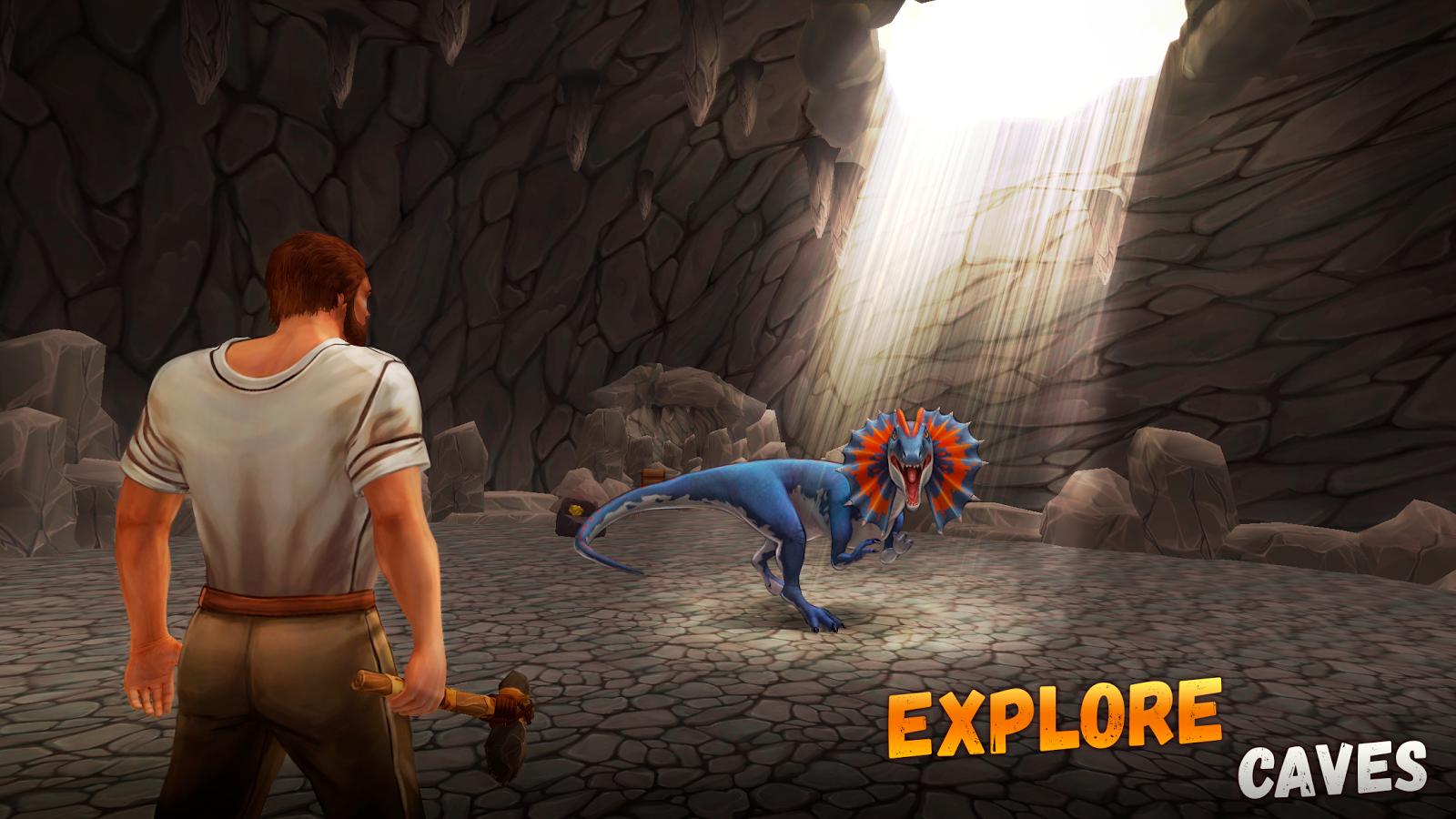 Jurassic Survival Island ARK 2 Evolve MOD APK terbaru