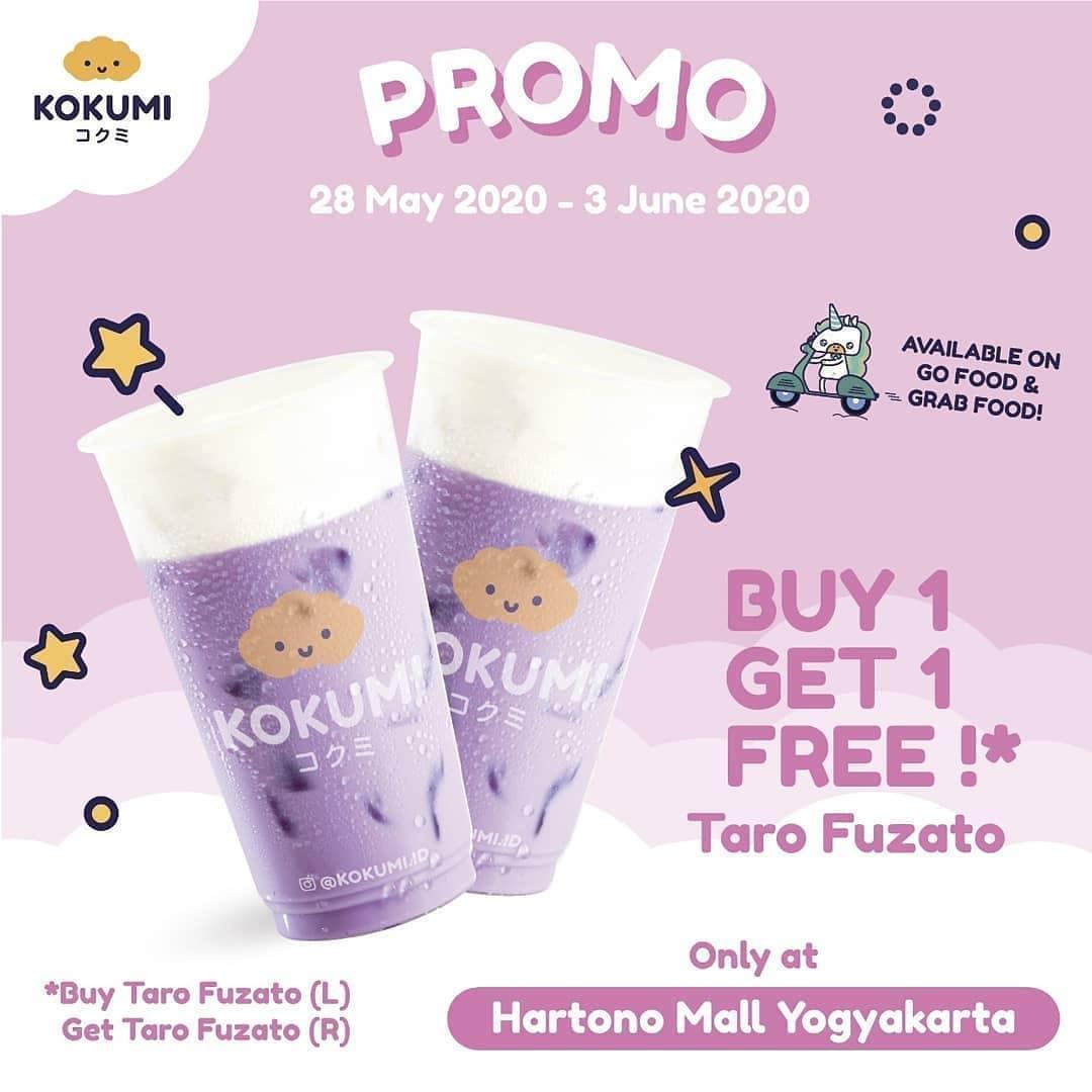 Promo Kokumi Terbaru Beli 1 Gratis 1 Gratis Taro Fuzato!