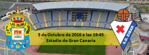 Previa UD Las Palmas - SD Eibar 5 Octubre 19:45
