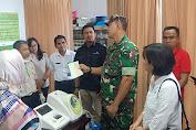 Hindari Kepanikan Masyarakat Terkait Informasi Virus Corona, Danrem 162/WB Pantau Pos Kesehatan Bandara LIA