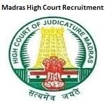 Madras High Court Computer Operator, Typist Recruitment