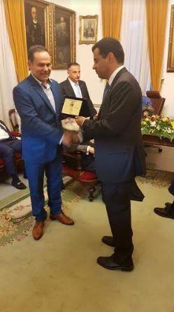Ο Δήμος Ύδρας τίμησε το Νίκο Μανωλάκο (ΦΩΤΟ)