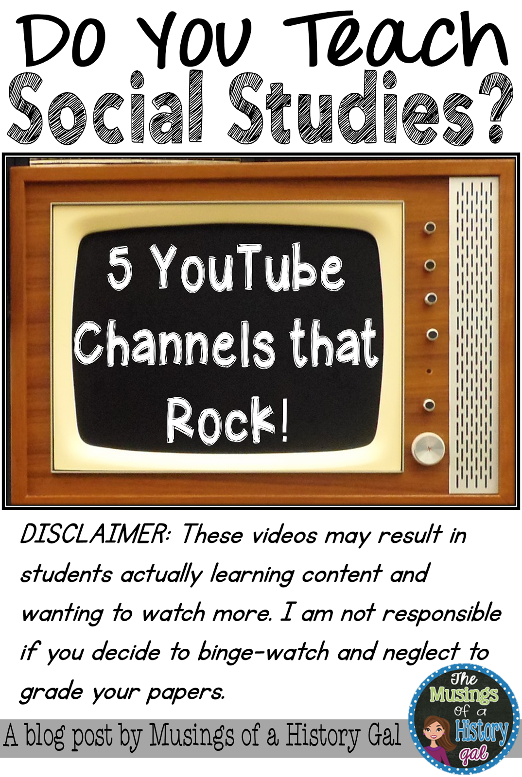 YouTube Channels Social Studies Teachers Should Follow