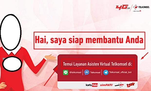 Cara Cek Pulsa Telkomsel Terbaru 2019 Via Asisten Virtual Telkomsel 2019