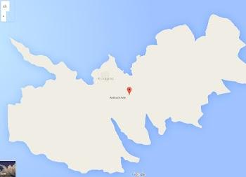 Τουρκικό όνομα στην Κίναρο από τη Google Maps... [photo]