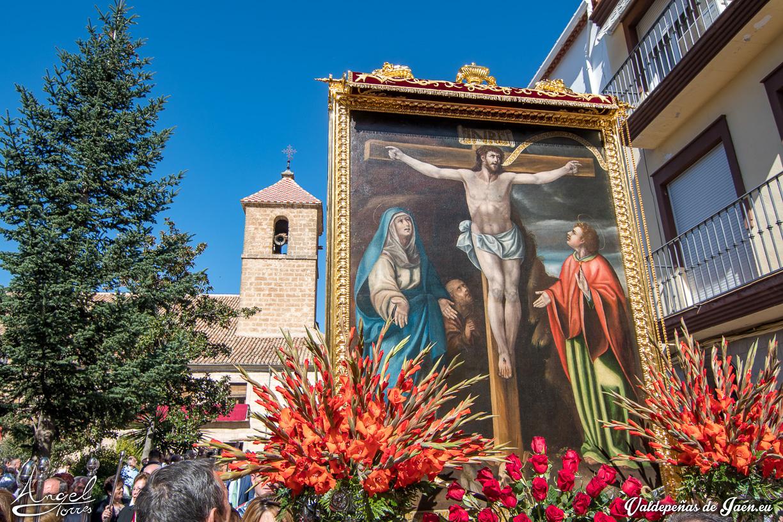 Cristo de Chircales en procesión.