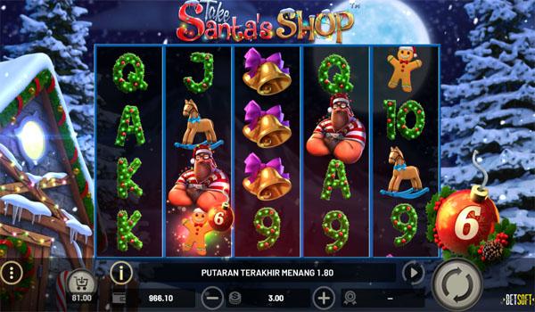 Main Gratis Slot Indonesia - Take Santa's Shop Betsoft