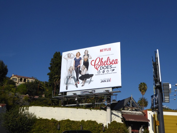 Chelsea Does Netflix series billboard