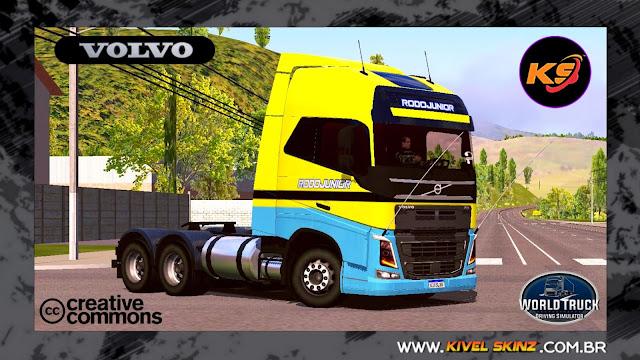 VOLVO FH16 750 - RODOJUNIOR TRANSPORTES AMARELO