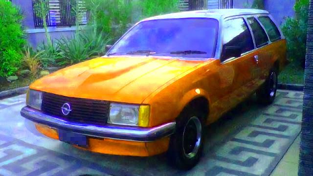 Opel Rekord diesel station wagon