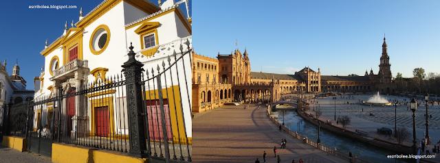 Escapada a Sevilla: la Maestranza y Plaza de España