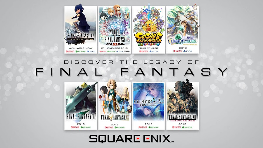 final fantasy legacy collection square enix