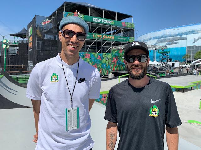 Consultores técnicos da Confederação Brasileira de Skate