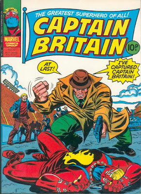 Marvel UK, Captain Britain #32
