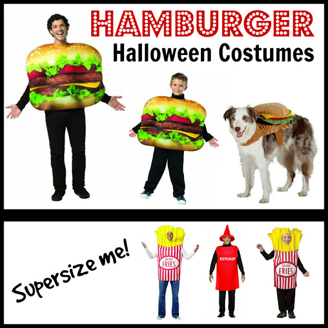 Hamburger Halloween Costumes
