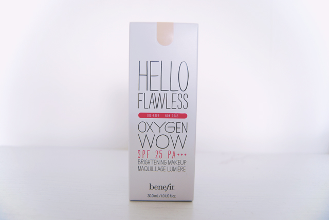 Hello Flawless Oxygen Wow Packaging
