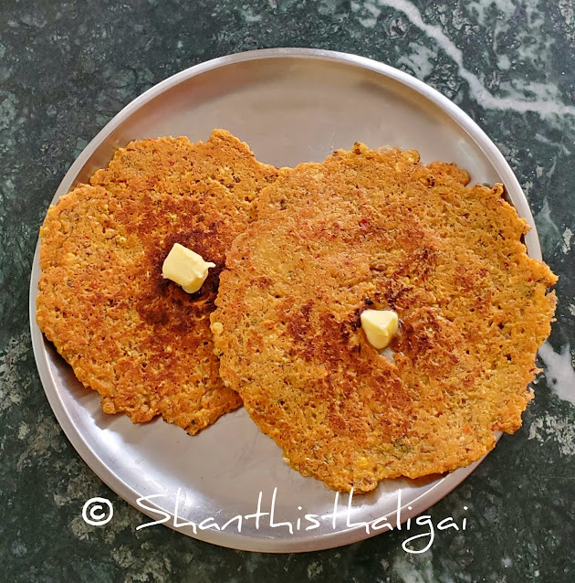 Horsegram adai recipe, Kollu adai recipe