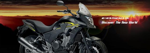 Honda CB500X moge berkelas adventure-tourer