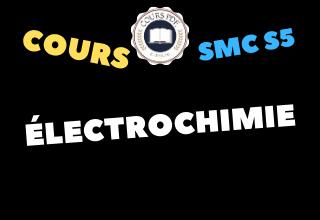 Électrochimie SMC S5 - cours / td & exercices / examens / résumés [PDF]