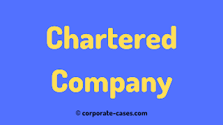 chartered company in company law