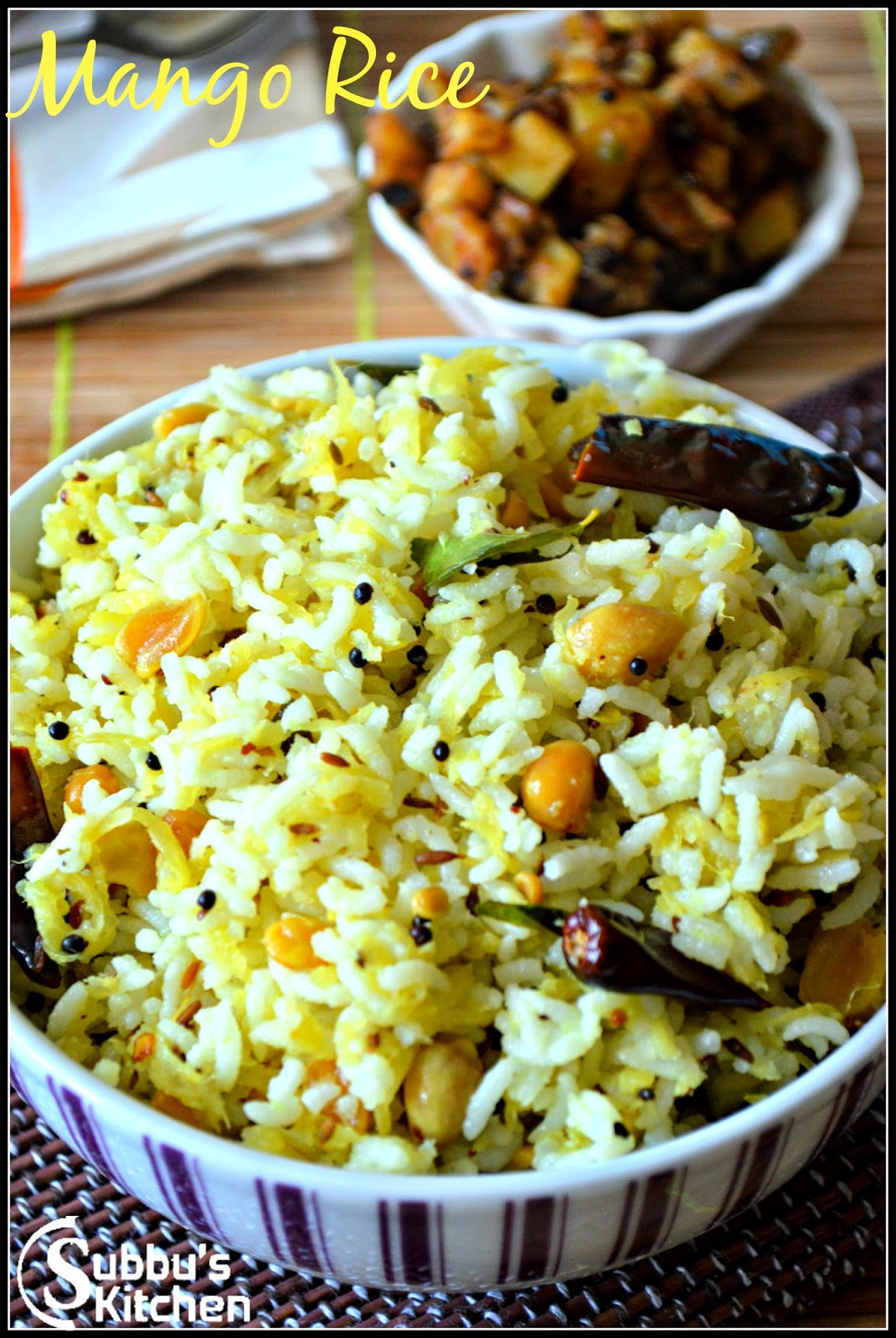 Mango Rice (Mangai sadham)