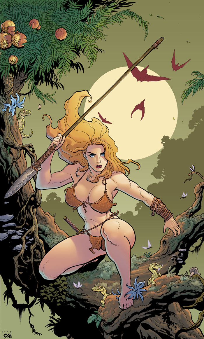 Shanna is tied into the life force of the Savage Land.